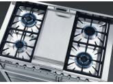 Гриль Teppan Yaki для газовых варочных поверхностей и варочных центров Smeg TPKX