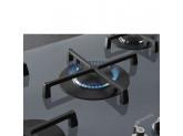 Газовая варочная панель, 72 см, Серебристый Smeg PV175S