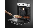 Многофункциональный духовой шкаф с функцией пиролиза, 60 см, Белый Smeg SFP6925BPZE