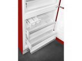 Отдельностоящий двухдверный холодильник, стиль 50-х годов, 70 см, Красный Smeg FAB38RRD