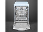 Отдельностоящая посудомоечная машина в стиле 50-х годов, 60 см, Голубой Smeg LVFABPB2