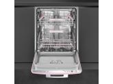 Встраиваемая посудомоечная машина, Стиль 50-х, 60 см, Розовый Smeg ST2FABPK2