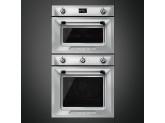Многофункциональный духовой шкаф, 60 см, Нержавеющая сталь Smeg SF6905X1