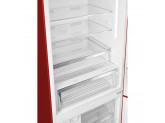 Отдельностоящий двухдверный холодильник, 70 см, Красный Smeg FA490RR
