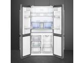 Отдельностоящий 4-х дверный холодильник Side-by-Side, Нержавеющая сталь Smeg FQ60X2PEAI