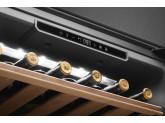 Холодильный шкаф для вина встраиваемый, 45 см, Черный Smeg CVI621LWNR3