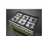 Отдельностоящий варочный центр, 90х60 см, Зеленый Smeg CPF9GMOG