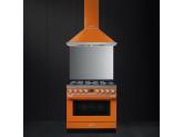 Отдельностоящий варочный центр, 90х60 см, Оранжевый Smeg CPF9GMOR
