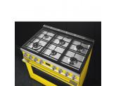 Отдельностоящий варочный центр, 90х60 см, Жёлтый Smeg CPF9GMYW