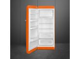 Отдельностоящий однодверный холодильник, стиль 50-х годов, 60 см, Оранжевый Smeg FAB28LOR3