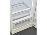 Отдельностоящий однодверный холодильник, стиль 50-х годов, 60 см, Кремовый Smeg FAB28RCR3