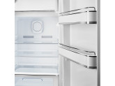 Отдельностоящий однодверный холодильник, стиль 50-х годов, 60 см, Разноцветные полоски Smeg FAB28RDMC3