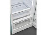 Отдельностоящий однодверный холодильник, стиль 50-х годов, 60 см, Зеленый Smeg FAB28RDEG5