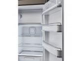 Отдельностоящий однодверный холодильник, стиль 50-х годов, 60 см, Коричневый Smeg FAB28RDTP3
