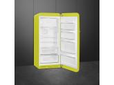 Отдельностоящий однодверный холодильник, стиль 50-х годов, 60 см,, Цвет лайма Smeg FAB28RLI5