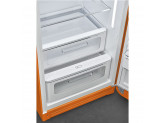 Отдельностоящий однодверный холодильник, стиль 50-х годов, 60 см, Оранжевый Smeg FAB28ROR3