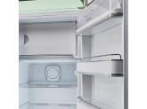 Отдельностоящий однодверный холодильник, стиль 50-х годов, 60 см, Зеленый Smeg FAB28RPG3