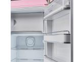 Отдельностоящий однодверный холодильник, стиль 50-х годов, 60 см, Розовый Smeg FAB28RPK3