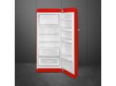 Отдельностоящий однодверный холодильник, стиль 50-х годов, 60 см, Красный Smeg FAB28RRD3
