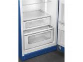 Отдельностоящий двухдверный холодильник, стиль 50-х годов, 60 см, Синий Smeg FAB30RBE3
