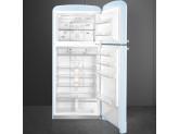 Отдельностоящий двухдверный холодильник, стиль 50-х годов, 80 см, Голубой Smeg FAB50RPB