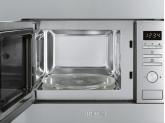 Встраиваемая микроволновая печь, 60 см, Нержавеющая сталь Smeg FMI017X