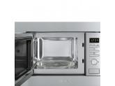 Встраиваемая микроволновая печь, 60 см, Нержавеющая сталь Smeg FMI020X