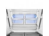 Отдельностоящий 4-х дверный холодильник Side-by-Side, Нержавеющая сталь Smeg FQ60XP1