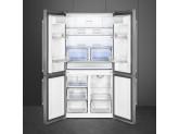 Отдельностоящий 4-х дверный холодильник Side-by-Side, Нержавеющая сталь Smeg FQ60X2PE1