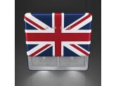 Вытяжка настенная, 75 см, Британский флаг Smeg KFAB75UJ