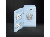 Отдельностоящая стиральная машина, 60 см, Голубой Smeg LBB14PB-2