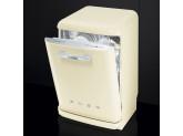 Отдельностоящая посудомоечная машина в стиле 50-х годов, 60 см, Кремовый Smeg LVFABCR