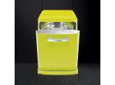 Отдельностоящая посудомоечная машина в стиле 50-х годов, 60 см, Цвет лайма Smeg LVFABLI