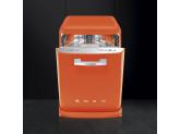 Отдельностоящая посудомоечная машина в стиле 50-х годов, 60 см, Оранжевый Smeg LVFABOR