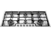 Газовая варочная панель, 87 см, Нержавеющая сталь Smeg PGF95