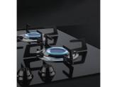 Газовая варочная панель, 60 см, Чёрный Smeg PVL664CN