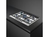 Газовая варочная панель, 72,5 см, Нержавеющая сталь Smeg PX175