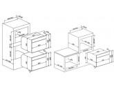 Встраиваемый духовой шкаф, 59,7 см, Чёрный Smeg SF4604VCNX1