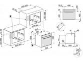 Многофункциональный духовой шкаф, 60 см, Графит Smeg SF6100VS1