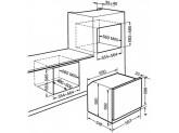 Многофункциональный духовой шкаф, 60 см, Серебристый Smeg SF6101VS