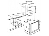 Многофункциональный духовой шкаф, 60 см, Нержавеющая сталь Smeg SF6372X