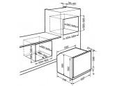 Многофункциональный духовой шкаф, 60 см, Серебристый Smeg SF64M3VS