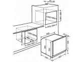 Многофункциональный духовой шкаф, 60 см, Чёрный Smeg SF6922NPZE1