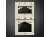 Многофункциональный духовой шкаф, 60 см, Кремовый Smeg SF750PO