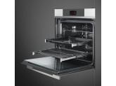 Многофункциональный духовой шкаф с функцией пиролиза, 60 см, Белый Smeg SFP6104WTPB