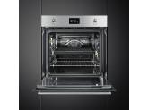 Многофункциональный духовой шкаф с пиролизом, 60 см, Нержавеющая сталь Smeg SFP6390XE