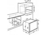 Многофункциональный духовой шкаф с пиролизом, 59,7 см, Чёрный Smeg SFP6604NXE