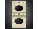 Многофункциональный духовой шкаф с функцией пиролиза, 60 см, Кремовый Smeg SFP805PO