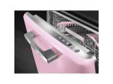 Стиль 50-х гг. Встраиваемая посудомоечная машина, 60 см, Розовый Smeg ST2FABPK