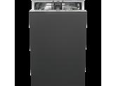 Полностью встраиваемая посудомоечная машина, 45 см, Серебристый Smeg STA 4523